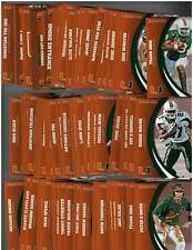 (10 ct lot) - 2015 Panini Miami Collegiate Collection Complete 80 Card Sets