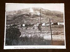WW1 Prima Guerra Mondiale 1914-1918 Avanzata sul Carso Bombe su Santa Caterina