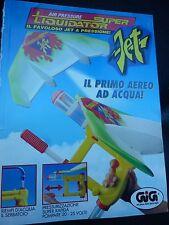 ADVERTISING PUBBLICITA' GIG SUPER LIQUIDATOR JET - 1993