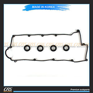 Valve Cover Gasket Set Fits 2003-2012 Hyundai Kia 2.0L DOHC OEM 22441 23800⭐⭐⭐⭐⭐