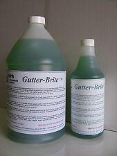 GutterBrite concentrated liquid Gutter Cleaner removes Black Streaks 1 gallon