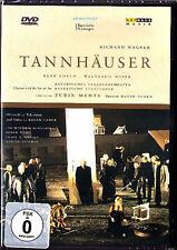 DVD: WAGNER: TANNHÄUSER Rene Kollo Waltraud Meier ZUBIN MEHTA Weikl Rootering