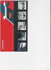 2002 ROYAL MAIL PRESENTATION PACK AIRLINERS MINT DECIMAL STAMPS