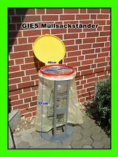 GIES Abfallsammler gelber Sack Ständer Müllsackständer farblich Sortiert