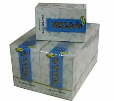10 BOXES RIZLA FILTER TIPS SLIM CIGARETTE 1500 TIPS FREE P&P