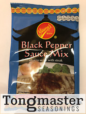Yeung's Black Pepper Sauce Mix (ideal to serve with steak) - 70g (10 Packs)