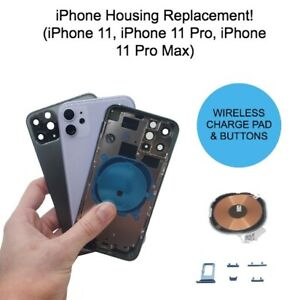 OEM Rear Back Glass Housing Cover Frame Assembly Replacement - iPhone 11 PRO MAX
