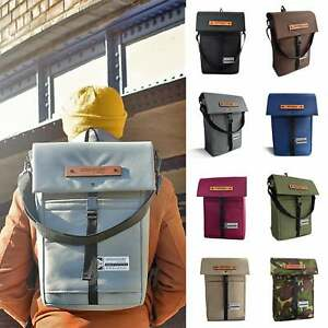 Laptop Backpack & Messenger Bag Water-Resistant by Goodstart Jones   Made in UK
