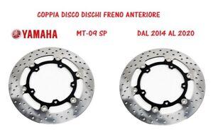 COPPIA DISCO DISCHI FRENO ANTERIORE ORIGINALI YAMAHA MT-09 SP XSR900 TRACER GT