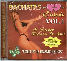 Bachatas Cupido Vol 1  18 Super Flechazos de Amor   BRAND  NEW SEALED  CD