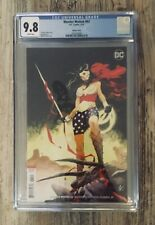 WONDER WOMAN 62 CGC 9.8 SCALERA VARIANT COVER