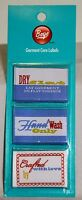 Handmade Garment Care Labels 2 packs Crafted with Love, Dry Flat, Hand Wash Only