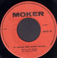 """MIEN EN DE KRAKERS - De Jordaan Moet Blijven Bestaan (RARE VINYL SINGLE 7"""" 45)"""
