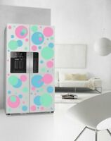 Set of Colourful Circles Wall Sticker Fridge Kitchen Decal Genuine BROOMSTICKER