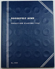 1946-1964 Circulated Roosevelt Dime Coin Collection Set Whitman Folder #9029