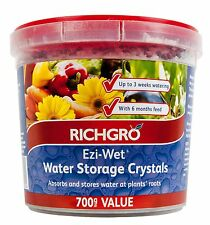 Ezi Wet Water Storage Crystals 700g Richgro Wetting Agent Soil Wetter Pot CRF