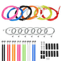 Jagwire Front & Rear Brake Gear Cable Kit Inner Outer MTB Mountain Bike