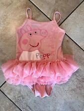 Next Girls Swimming Costume Peppa Pig Age 3-4 Years Ex Condition