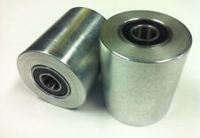 "Belt grinder wheels for 2x72"" knife grinders Set of 2 wheels"