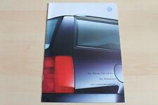 81745) VW Passat Variant - Preise & Extras - Prospekt 11/1999