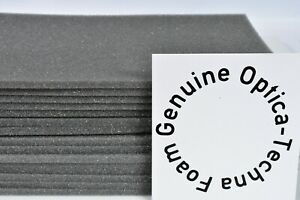 """5mm THICK 8""""x5""""  SOFT GREY OPEN CELL FOAM SPONGE SHEET FOR CRAFT DIY SUPPORT"""