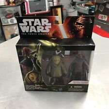 New Star Wars Force Awakens Sidon Ithano First Mate Quiggold Figure 2-Pack Alien
