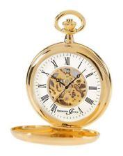 Relojes de bolsillo de esqueleto de oro
