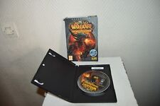 JEU EXTENSION PC/MAC DVD ROM WORLD OF WARCRAFT CATACLYSM GAME BLIZZARD WOW