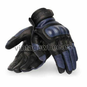 Royal Enfield Urban Tourer Gloves - Navy Blue Colour