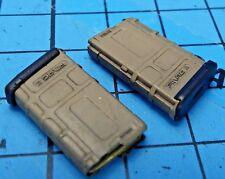 Dam Toys 1:6 DCG002 Combat Girl Gemini Vicky Figure - PMAG 20rd Rifle Clips