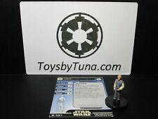Star Wars Miniatures Lobot Universe UH Cloud City w/ Card mini RPG Legion