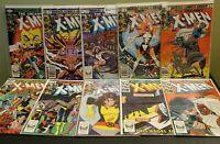 X-Men #161 - 170 Complete Run (Marvel 1982) 1st Brood Binary Callisto & Morlocks