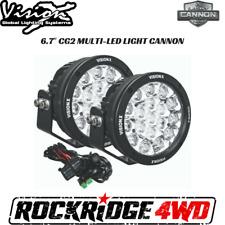 Vision X 6.7″ CG2 MULTI-LED LIGHT CANNON GEN 2 PAIR W/ HARNESS