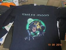 WOLFS MOON LONG SLEAVE /CAMISETA MANGA LARGA SIZE XL. GERMAN HEAVY METAL BAND