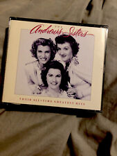 Their All-Time Greatest Hits by The Andrews Sisters (CD, Oct-1994, 2 Discs, Decc