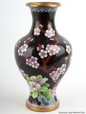 China 20. Jh A Chinese Export Cloisonne Enamel Vase Vaso Cinese Jarrón Chino 景泰蓝