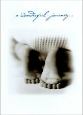 Baby's Feet New Baby Card - Greeting Card by Avanti Press
