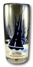 "ORREFORS Glass - Olle Alberius - Graal Vase ""Regatta"" - 9 1/2"""