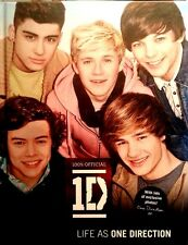 NEW DIRECTION BOOK DARE TO DREAM LIFE AS ONE DIRECTION 2011 HARD COVER
