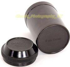 Leica in bachelite Custode per Elmar 9cm LTM LENTE prodotto genuino DA E. LEITZ WETZLAR