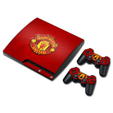Manchester United FC Vinyl Skin Sticker Decals Covers (PS3 SLIM) Console&Gamepad