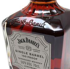 Jack Daniels 100 PROOF Single Barrel Tennessee Whiskey 0,7l 50% + Silver Box