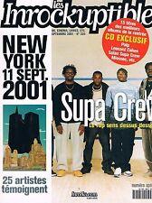 Les Inrockuptibles   N°305  -  18 sep 2001 - 11 sept 2001 Saian supa crew