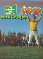 Max GREGER - Trimm und tanz Dich top-fit , POLYDOR -  Langspielplatte 1977