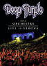 DEEP PURPLE WITH ORCHESTRA-LIVE IN VERONA DVD NUOVO