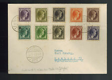 1940 Luxembourg to Germany Cover #  159-173