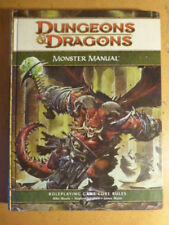 Dungeons & Dragons Monster Manual Core Rules D&D  TSR 4th Edition