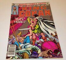 King Conan # 6 1981 *Roy Thomas / Buscema* Marvel