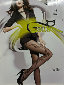Lovely tights with floral pattern- Joelle by Gatta- 20 denier