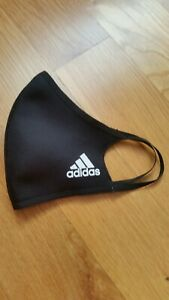 1 Adidas Face Mask Cover-Black-100% Authentic Adult Size Large